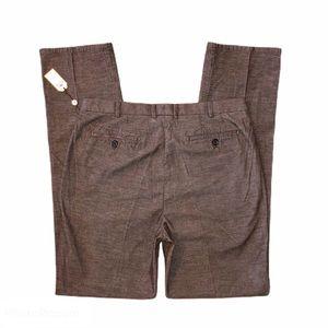 NEW! MENS 36 PETER MILLAR brown CORDUROY PANTS NWT